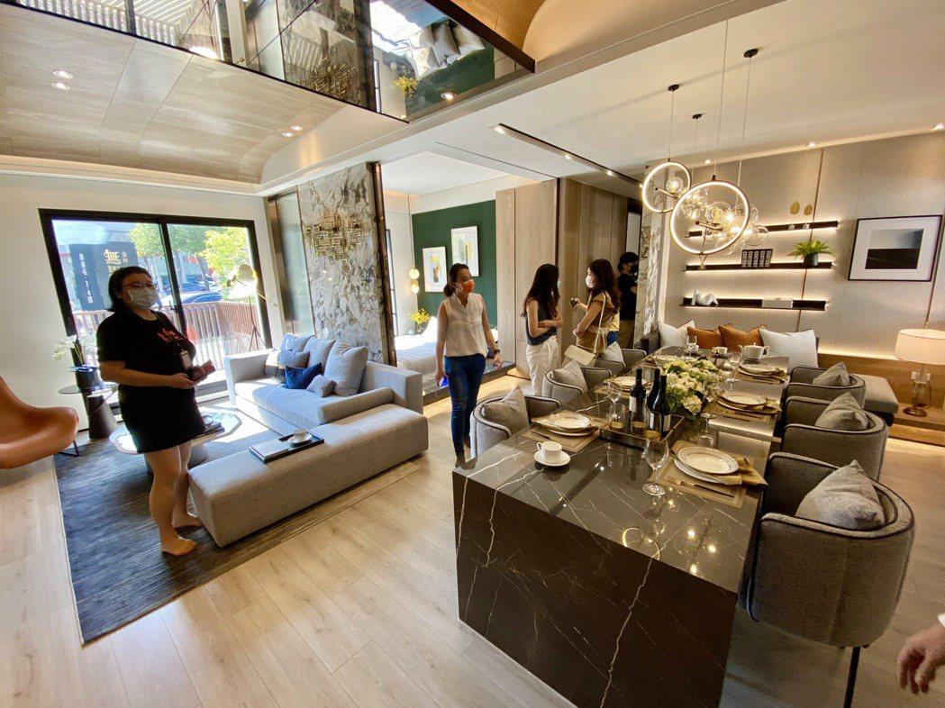 高規格日系宅規劃,獲得不少科技菁英與白領階層靑睞。記者宋健生/攝影
