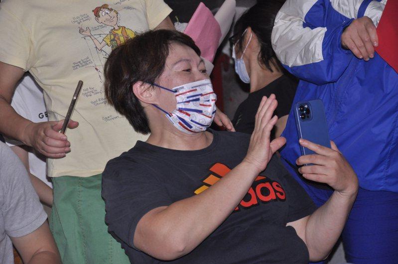 陳玟卉媽媽接到市長侯友宜來電後有感而發,希望能給台灣練體育的小朋友一條好走的路,而不是奪牌才是一切。記者張哲郢/攝影