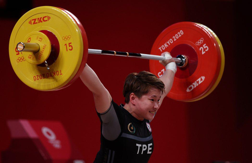 陳玟卉奧運初體驗就舉出女子64公斤級銅牌。特派記者余承翰/東京攝影