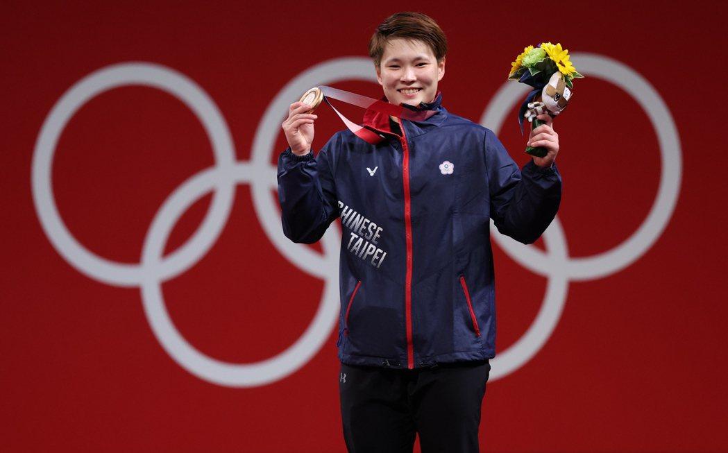 陳玟卉獲得女子64公斤級銅牌。特派記者余承翰/攝影