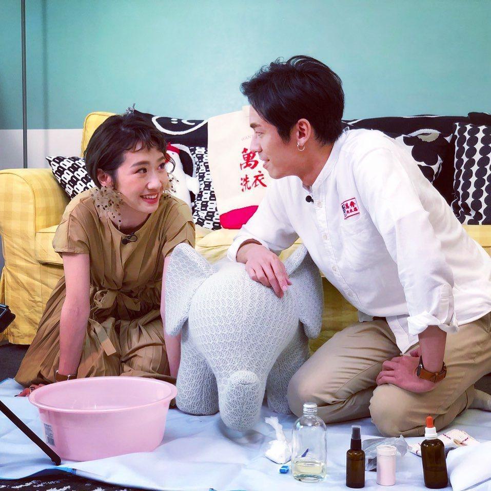 Lulu曾邀張瑞夫來拍攝Youtube頻道影片。 圖/擷自張瑞夫IG