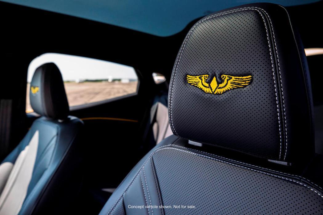 紀念志願女飛行員,Ford打造全球唯一紀念版Mustang Mach-E。 圖/...