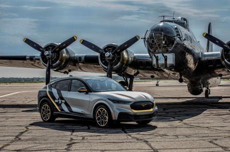 紀念志願女飛行員 Ford打造全球唯一紀念版Mustang Mach-E