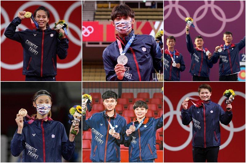 本屆東奧開幕僅6天,中華隊已經斬獲1金2銀3銅。 聯合報系資料照
