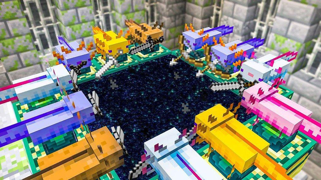 取自 GrayStillPlays《Minecraft》遊玩影片,下同。