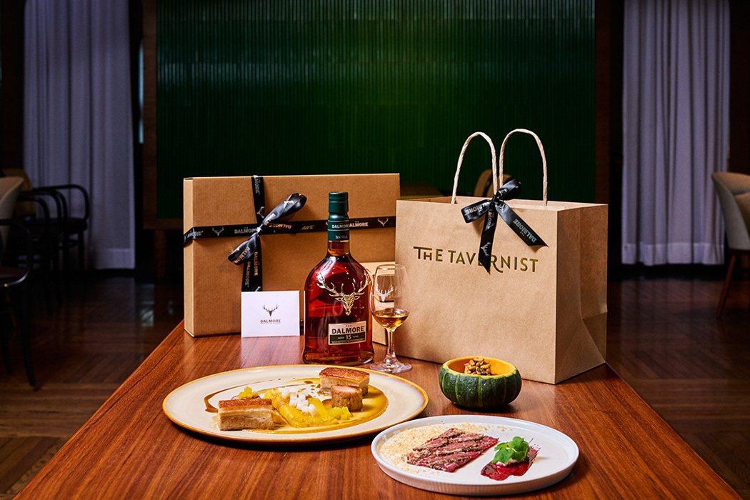 「大摩珍稀俱樂部-璀璨摘星酩饗」攜手The Tavernist推出限量客製餐點。...