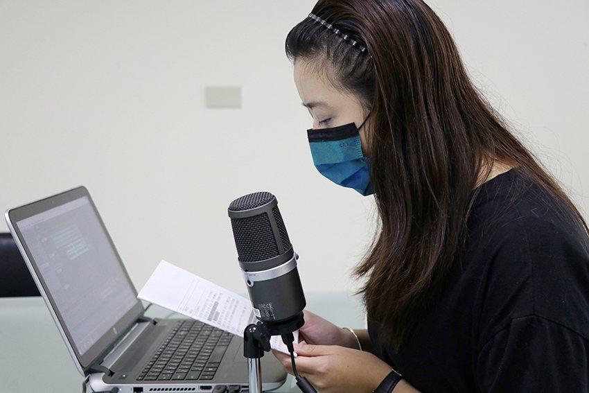 十三行Podcast節目皆由館員自行錄製、剪輯。 十三行博物館/提供