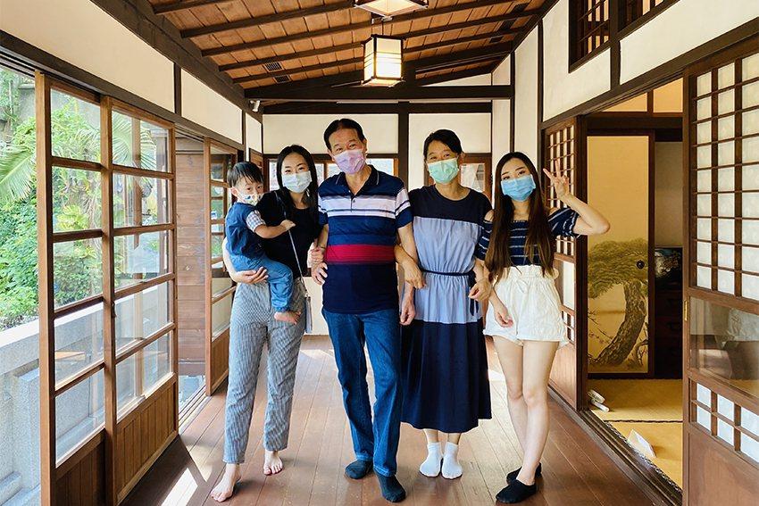 淡水古蹟博物館推父親節限量抽獎活動,民眾有機會包場淡水日本警官宿舍與家人共度佳節...