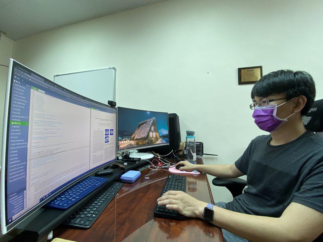 成大數據所團隊在AI肺炎影像判讀競賽獲世界第三殊榮。 成大/提供