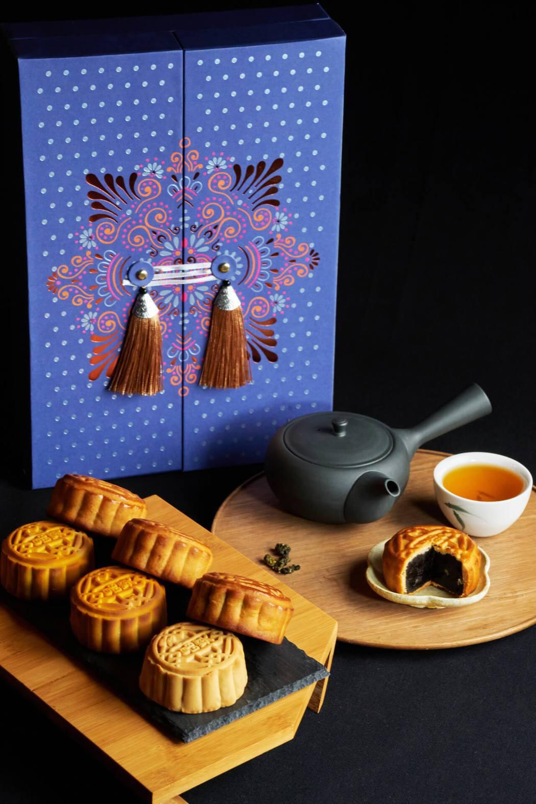 台南晶英月餅_南城月禮盒,每盒1,180元。 台南晶英/提供