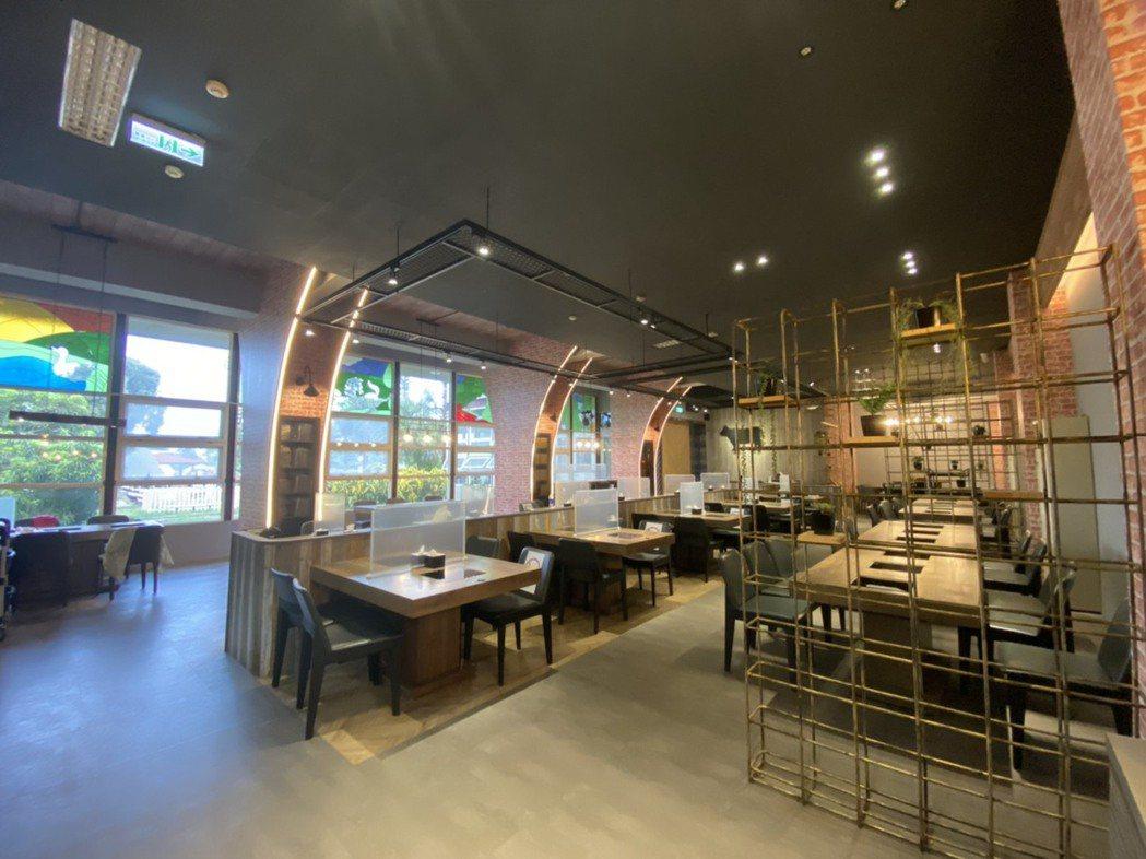 耗資千萬元打造的金牪餐廳,空間融入金門在地特色及畜試所歷史意涵。  圖/雄獅旅遊...