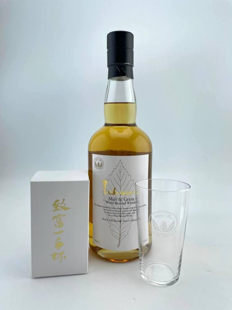 白葉威士忌是秩父蒸餾廠劃時代的嶄新作品。圖/華揚國際提供。提醒您:禁止酒駕 飲酒...