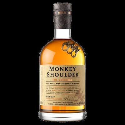 「三隻猴子」瓶身上的三隻立體猴子,可愛俏皮。圖/格蘭父子提供。提醒您:禁止酒駕 ...