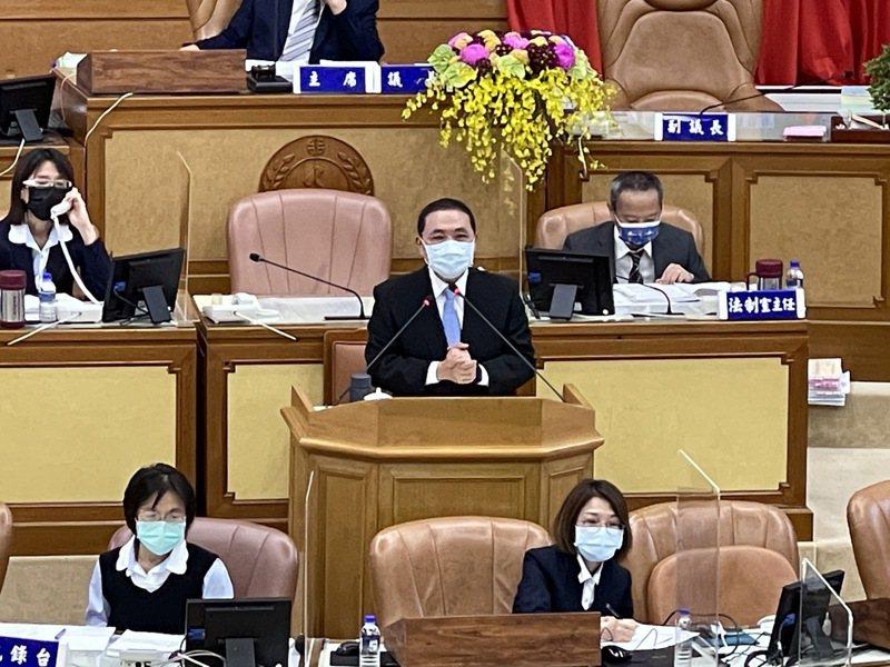 無黨籍市議員李翁月娥指出,如果衛福部長是侯友宜就好了。記者王敏旭/攝影