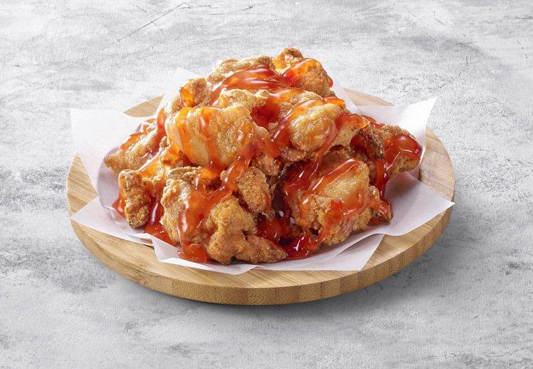 泰式酸甜唐洋雞,單點每份199元,加購價每份179元。圖/必勝客提供