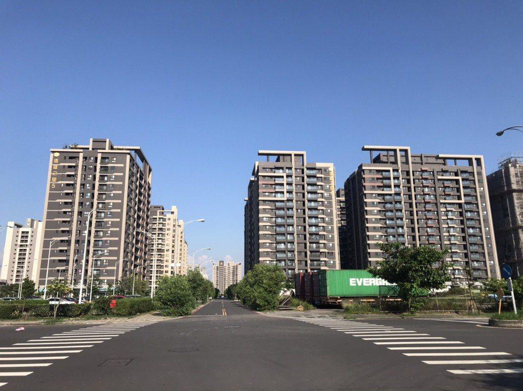 清水近年最為熱絡的是西濱以西的重劃區。圖/東森房屋提供