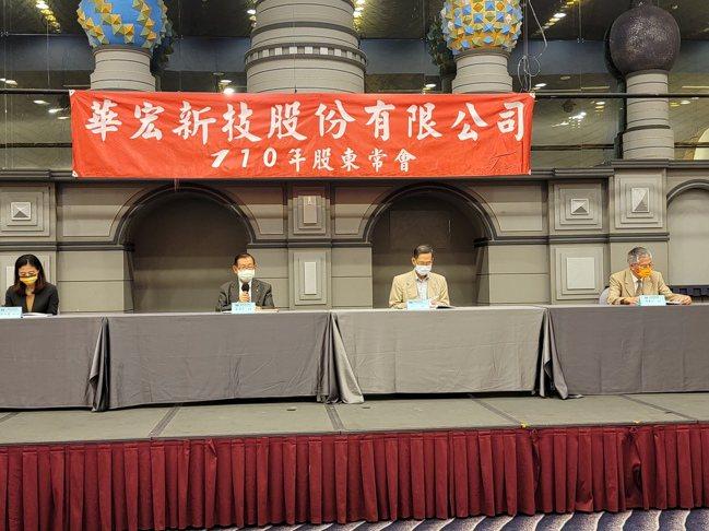 華宏新技28日舉行股東會,通過配發1.6元股利。業者提供