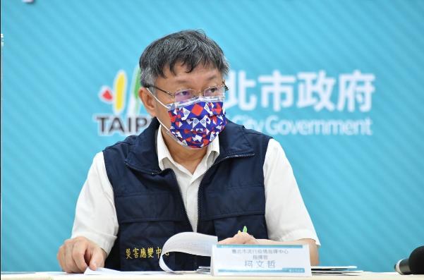 衛福部長陳時中回應,疫苗都夠,是地方打太快,對此,台北市長柯文哲嗆陳時中,「打太...