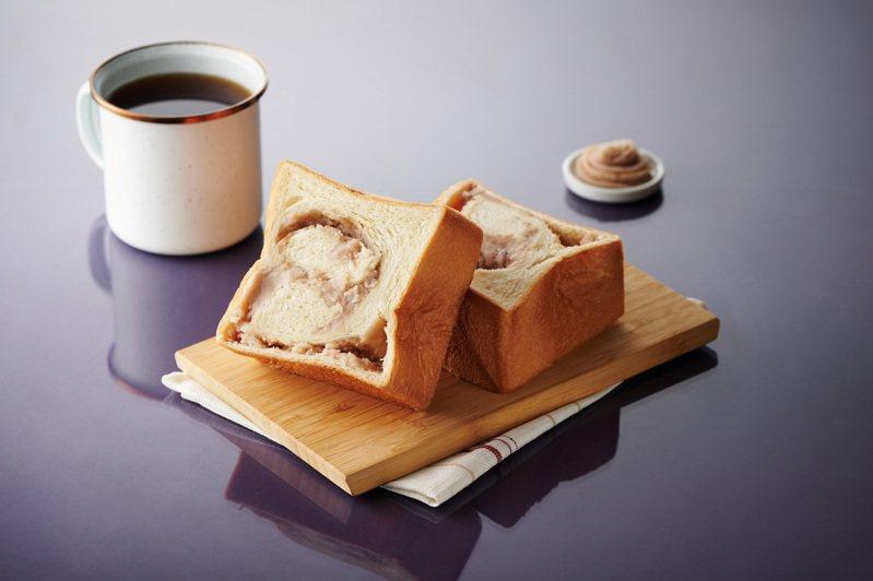 Read Bread × 鎮瀾宮聯名「芋泥生吐司」,售價69元,8月14日至8月16日特價62元。圖/全聯福利中心提供