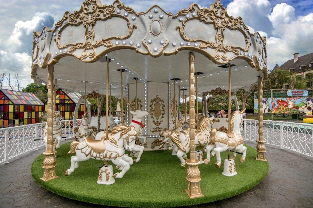 瑞穗天合國際觀光酒店旋轉木馬。業者提供
