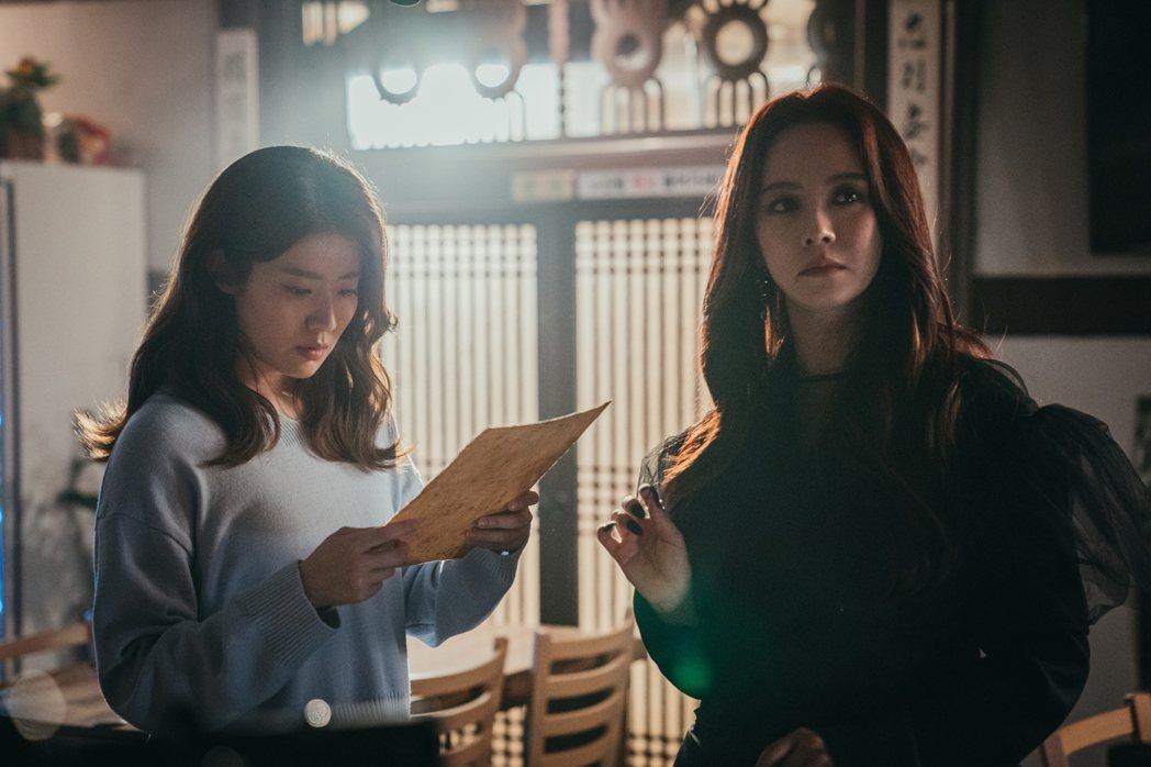 南志鉉(左)與宋智孝在「來魔女食堂吧」有不少精采對手戲。圖/friDay影音提供