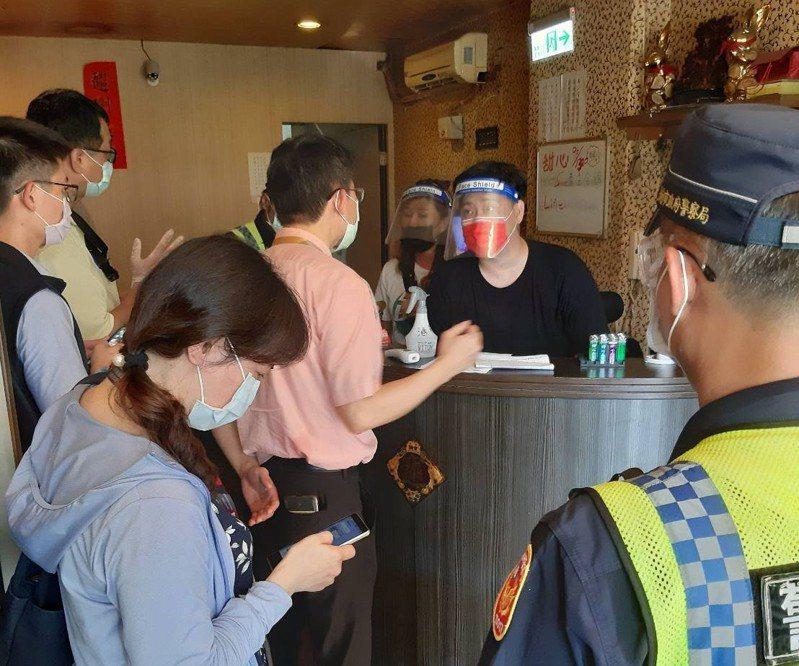 台南市經發局表示,美容美體業依中央規定有條件開放,也會嚴加稽查。圖/經發局提供