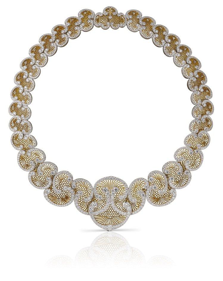 Buccellati Unica系列Soffione高級珠寶項鍊,價格店洽。圖 ...