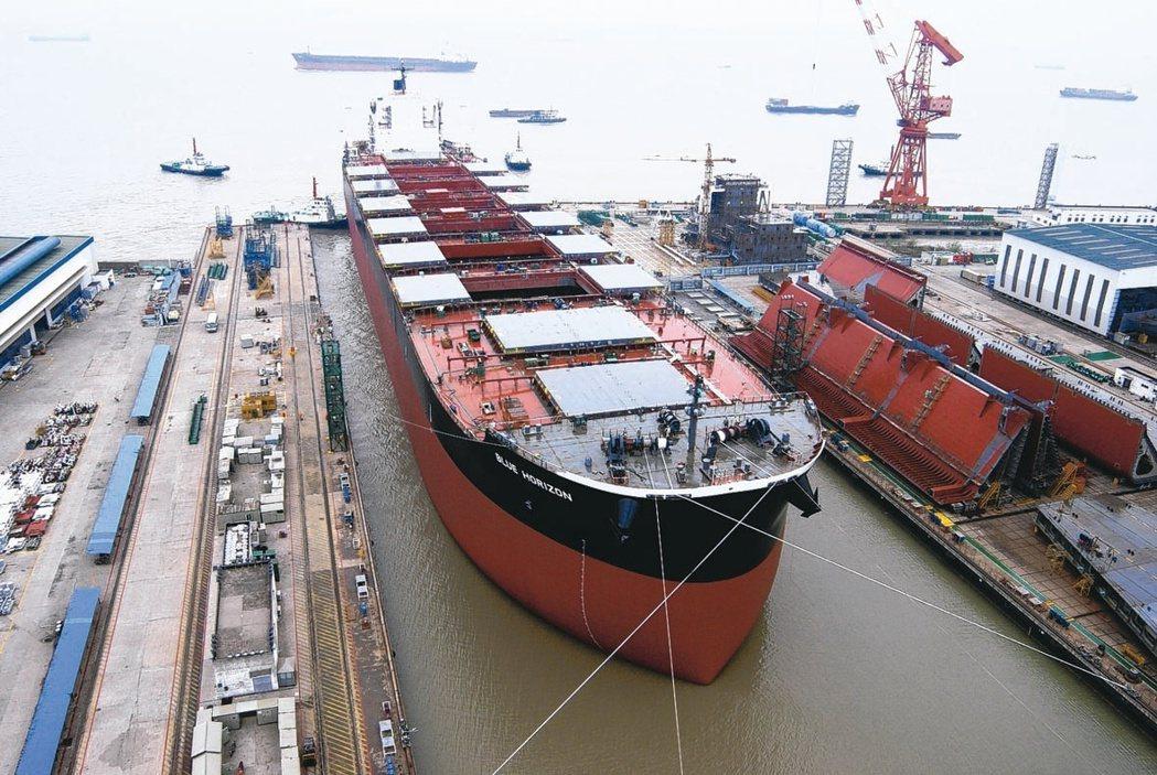 全球經濟回升帶動大宗商品需求復甦,乾散貨運費因此飆升。(本報系資料庫)