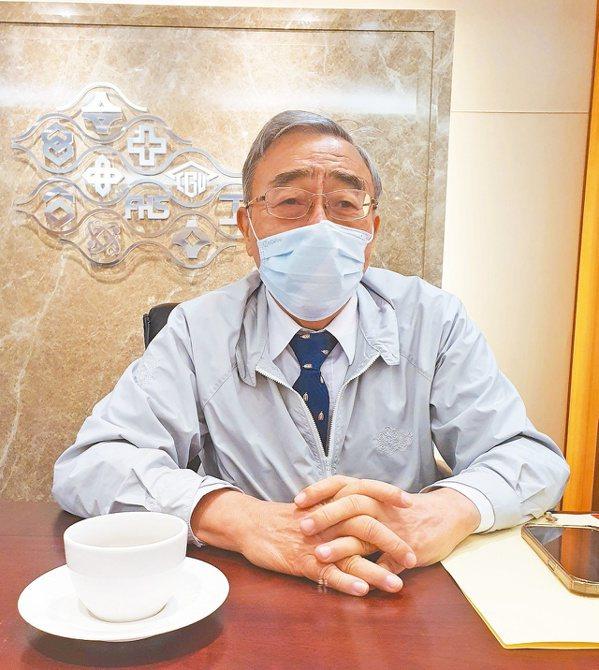 工總理事長暨台塑集團總裁王文淵。記者曾仁凱/攝影