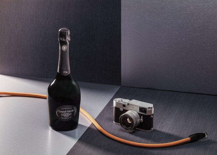 雙方合作將為世界各地的徠卡相機愛好者提供品味馳名香檳特釀的專屬體驗。圖/徠卡相機...