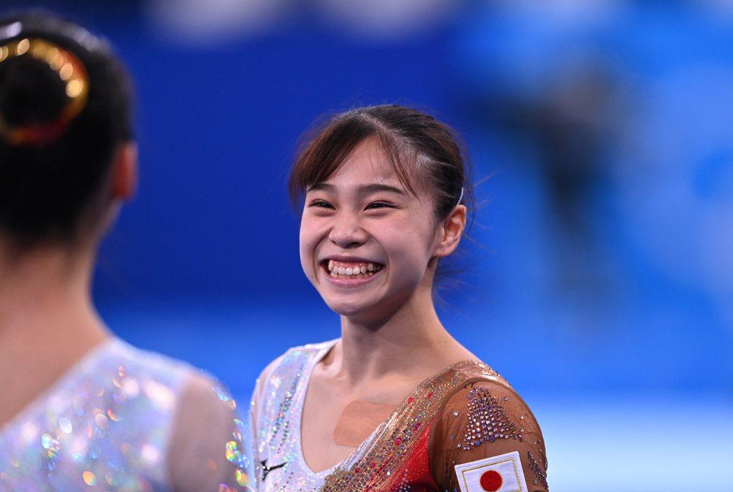 杉原愛子甜美的笑容,迷倒不少粉絲。 路透社