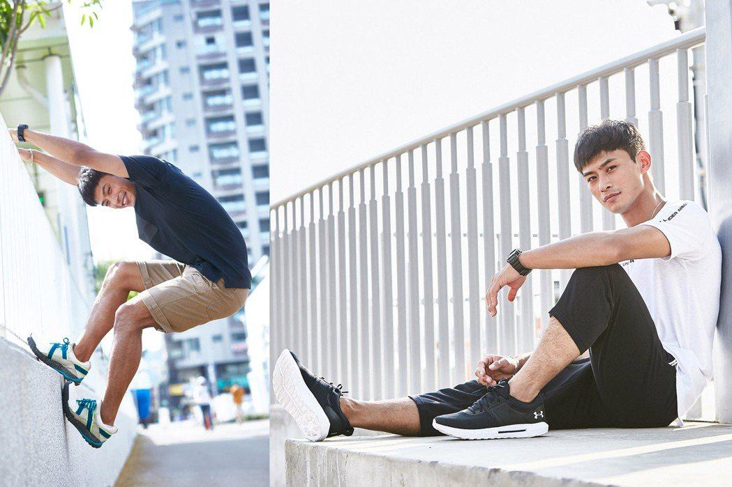 楊勇緯於2019年幫UNDER ARMOUR拍攝的鞋款形象照,再度被網友關注。圖