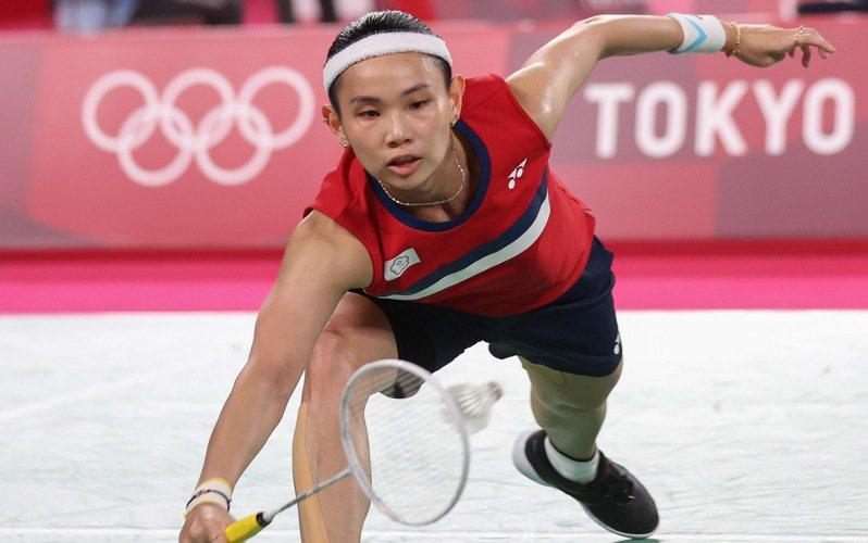 戴資穎明天迎接東京奧運8強戰,確定再戰泰國好友依瑟儂。 特派記者余承翰/東京攝影