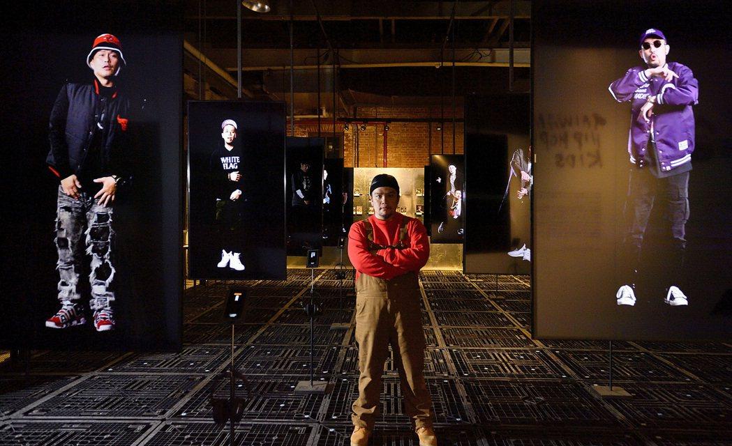 2018台灣文博會─嘻哈團。圖/格式設計展策提供、汪德範攝影