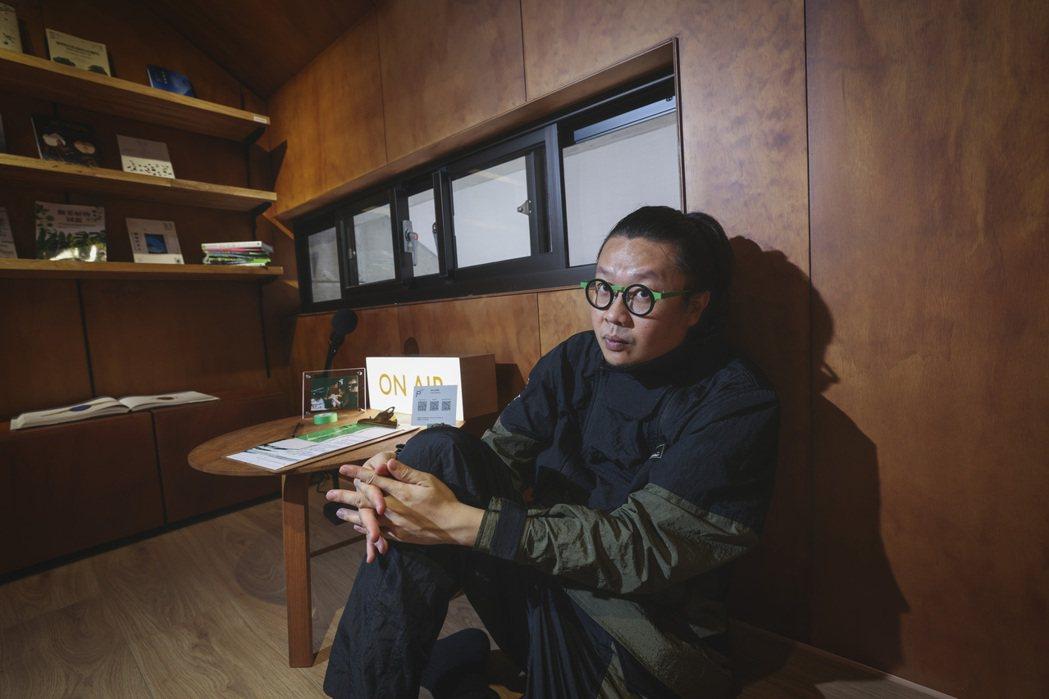 王耀邦自認是認真把策展當事業的人。記者王聰賢/攝影