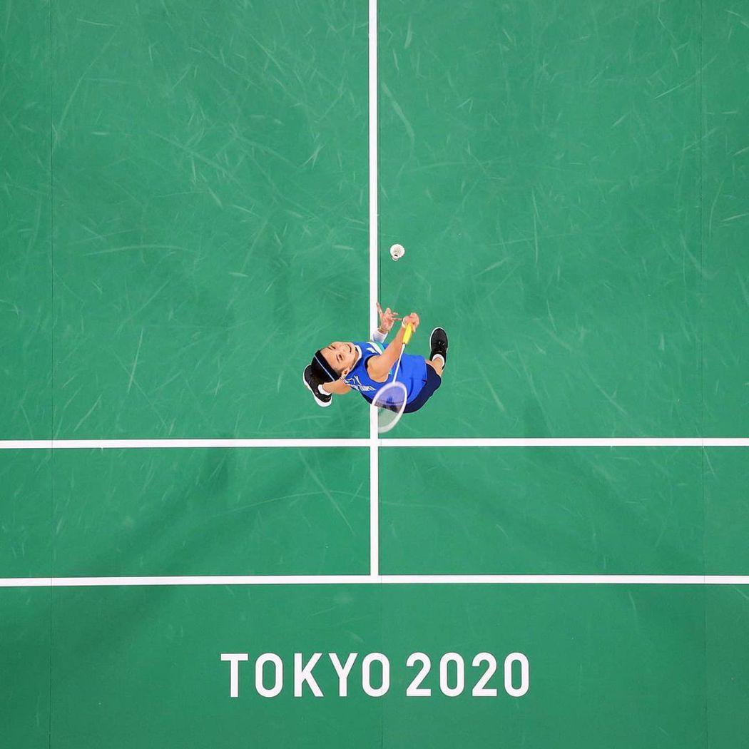 戴資穎也成為照片主角。圖/摘自2020東京奧運官方IG