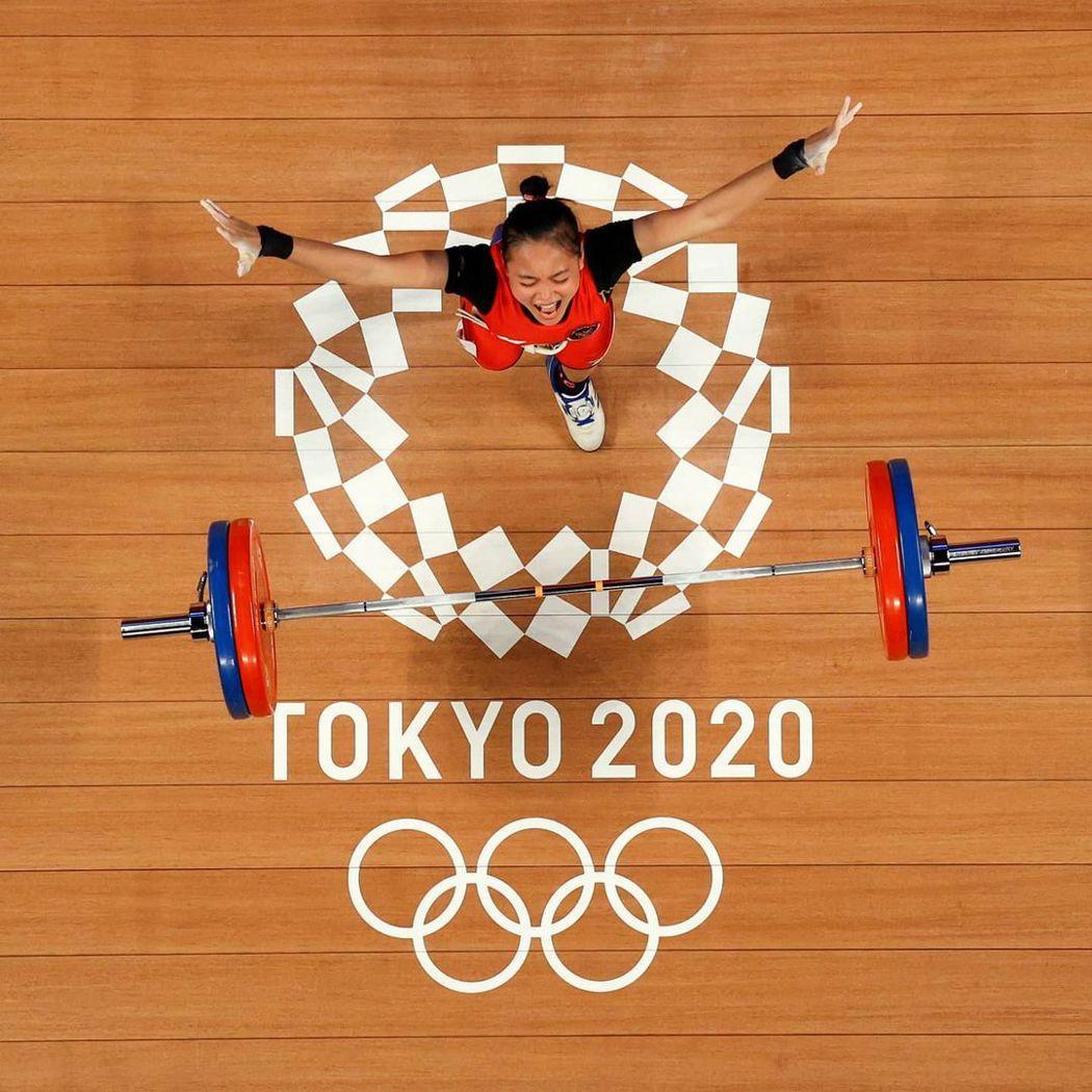 高空俯拍創造照片不同的張力。圖/摘自2020東京奧運官方IG