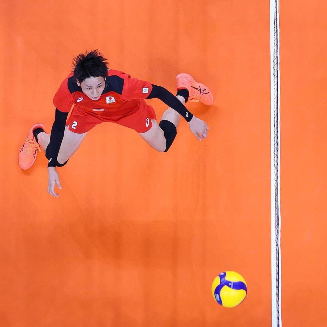 高空俯拍,讓照片更活潑。圖/摘自2020東京奧運官方IG