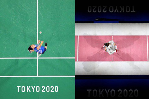 2020東京奧運官方IG,PO出一系列「當運動遇上藝術」的照片。圖/摘自2020...
