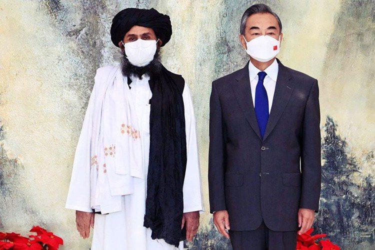 阿富汗塔利班的副首領與對外談判主持人巴拉達爾(Mullah Baradar),2...
