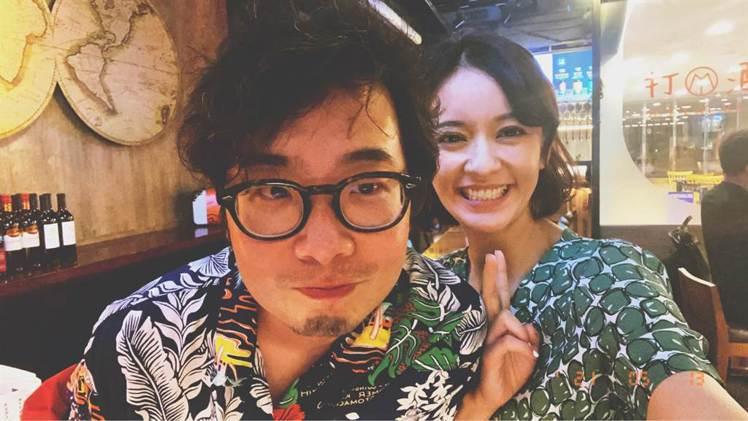 陳意涵(右)跟導演老公許富翔婚後感情甜蜜。圖/陳意涵提供