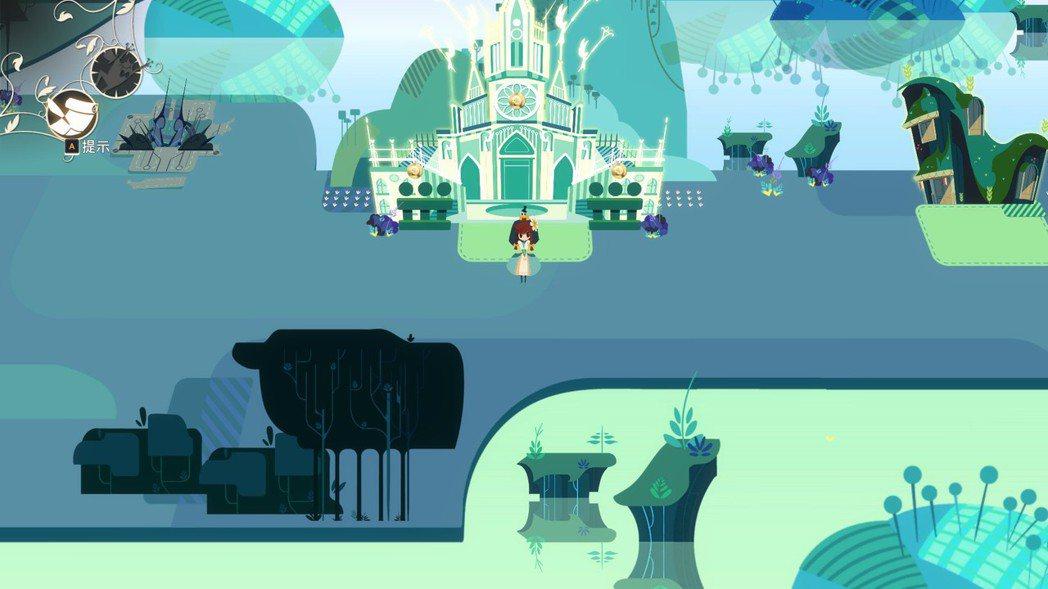 遊戲中的場景雖然美麗,但可探索範圍其實並不多。