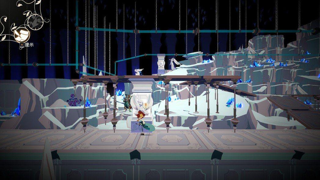 本作的迷宮設計有些機關算是有趣的,但因為主角行走速度慢且無法跑,加上有的路過於冗...
