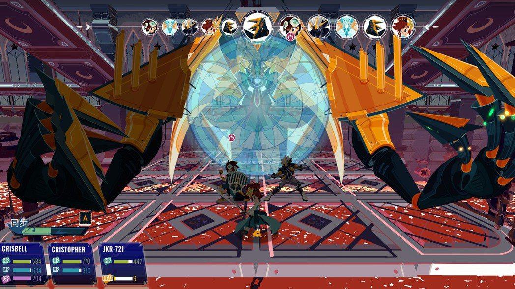 小虎也有遇到遊戲的 bug,在戰鬥中敵人的行動莫名空轉,造成敵我都無法進行下去的...