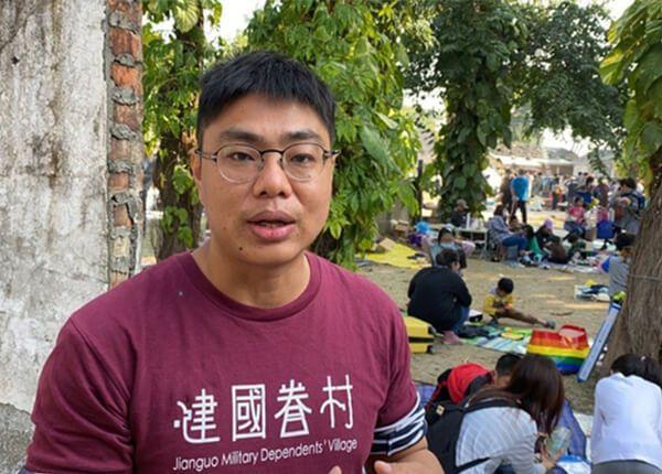 大學時的某次翹課,讓虎尾建國眷村成了劉志謙的第二個故鄉。記者陳雅玲/攝影