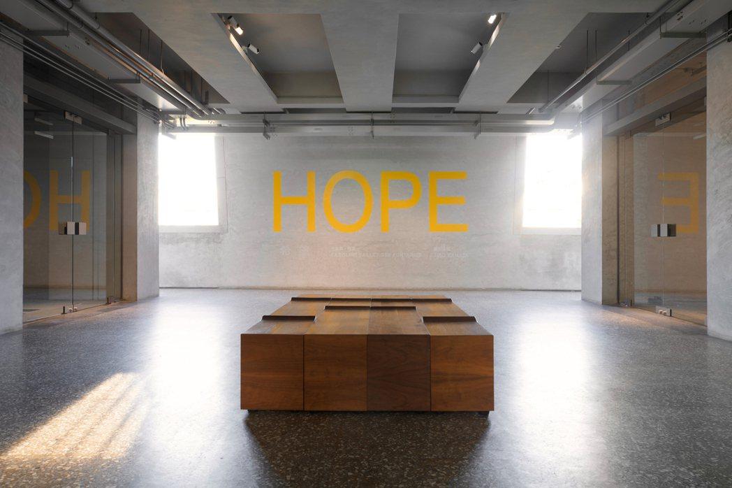 金馬賓館希冀藉由創作藝術的能量,為陷入黑暗的人們,點燃一絲希望的亮光,這也是《希...