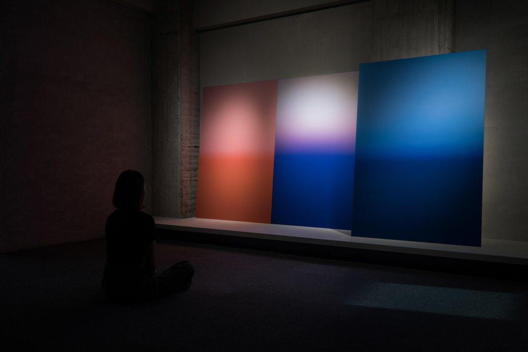 卡洛琳・阿萊的作品於《希望》展覽現場。 圖/金馬賓館當代美術館提供