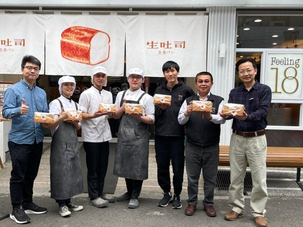 弘光科大與知名巧克力工房合作產業學院,店內生吐司是超夯商品。