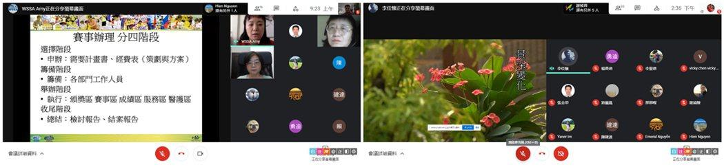 中國科大富岡青旅行4.0團隊把競技疊杯運動賽事活動規劃課程與影片拍攝技巧,透過線...