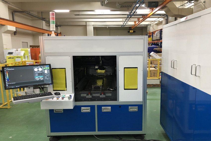 工研院與國內自動化工程服務大廠盟立自動化合作,獨家發表「車載3D曲面儀表玻璃量測...
